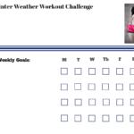 Winter Weather Workout Challenge